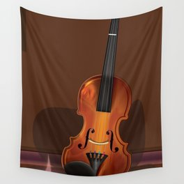 The old Violin Wall Tapestry