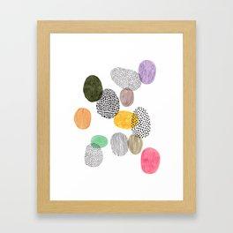 Bolls by Veronique de Jong Framed Art Print