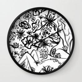 Garden of Eves Wall Clock