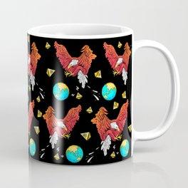 Drop the World Pattern Coffee Mug