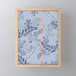 Pastel Tropical Framed Mini Art Print