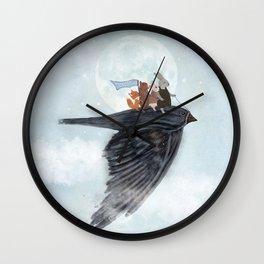 the light bird Wall Clock