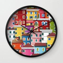 Burano, Italy Wall Clock