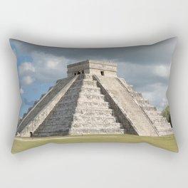 Chichen Itza, El Castillo 2 Rectangular Pillow