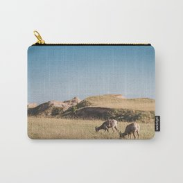 Bighorn Sheep in the Badlands Carry-All Pouch