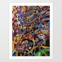The Coming of the Sun Art Print