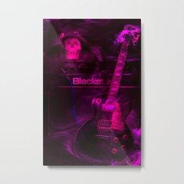 Rock is forever Metal Print