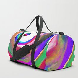 Space Rainbow Duffle Bag