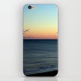 Sunset over the Ocean iPhone Skin