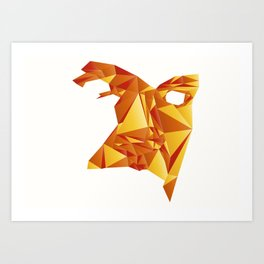 Polyface Color Art Print