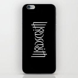 Wordsmith iPhone Skin