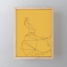 EGYPTIAN SYMBOLS CAMEL Framed Mini Art Print