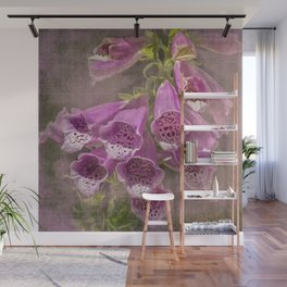 Purple Foxglove, a Wildflower of Yosemite Wall Mural