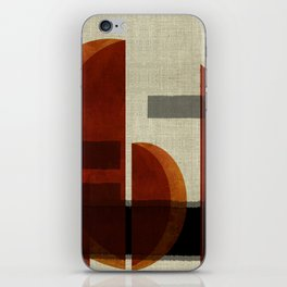 """""""Abstract Ships at Sunset"""" iPhone Skin"""