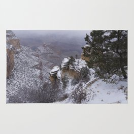 Snow on the South Rim Rug