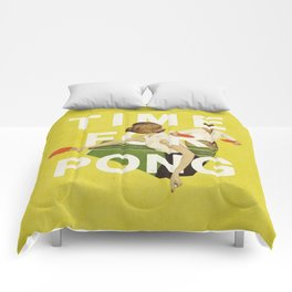 Time For Pong Comforters