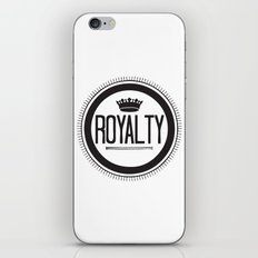 You Are #Royalty iPhone & iPod Skin