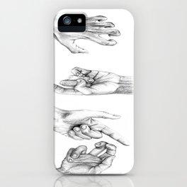 Hands iPhone Case