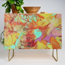Orange is the New Orange Credenza