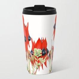 Sturt's Desert Pea Botanical Travel Mug