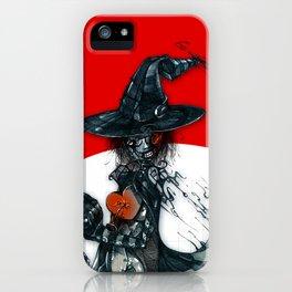 voodoo witch iPhone Case