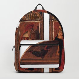 Giovanni Bellini - triptych of the Madonna Backpack