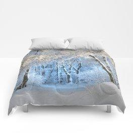 Another winter wonderland Comforters