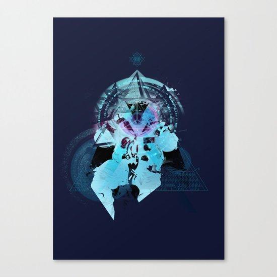 Illuminati Astronaut Canvas Print