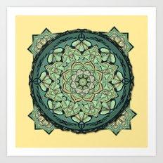 Morris Mandala Art Print