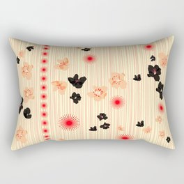 spotted blooms Rectangular Pillow