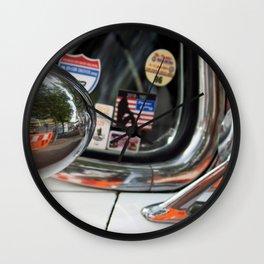 Car light Wall Clock