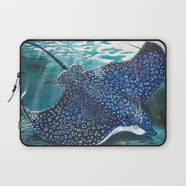 spotted eagle ray Laptop Sleeve