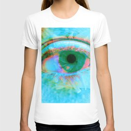 Eye in Bloom [Blue] T-shirt