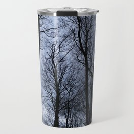 Black Veins Travel Mug