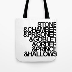 Harry Potter Ampersand Tote Bag
