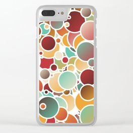 Assorted bubbles Clear iPhone Case
