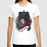 bad wolf T-shirts featuring Bad Wolf by zerobriant