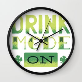 drink mode  Wall Clock