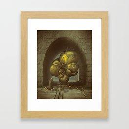 HEADPHONE JACK (everyday 09.20.16) Framed Art Print