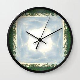 roadtrip: lace Wall Clock