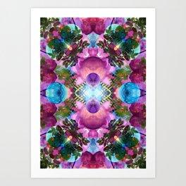 Worlds Colliding Art Print