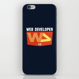 Web developer iPhone Skin