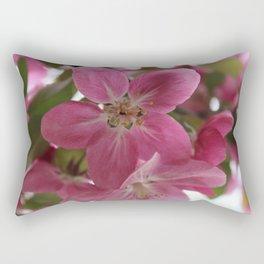 CrabApple Flowers Rectangular Pillow