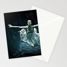 abyss of the disheartened : girl I Stationery Cards