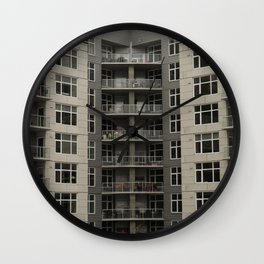City Livin' Wall Clock