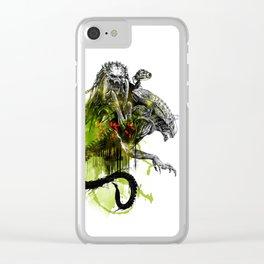 AVP : Fury Clear iPhone Case