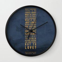 No Choice Wall Clock