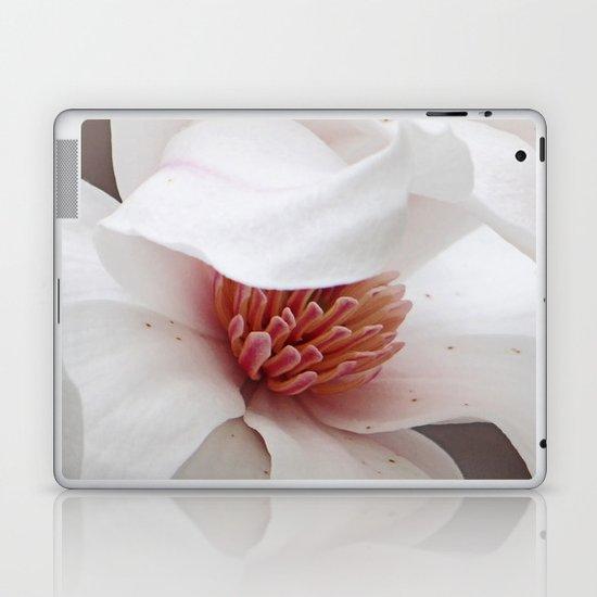 Magnolia Bloom Laptop & iPad Skin