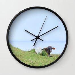 Rosa Cow Wall Clock
