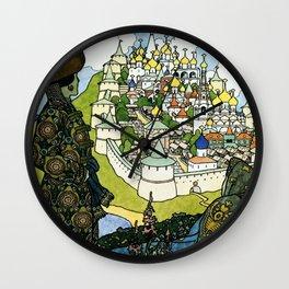 """Tales of the Tsar"" by Ivan Bilibin Wall Clock"